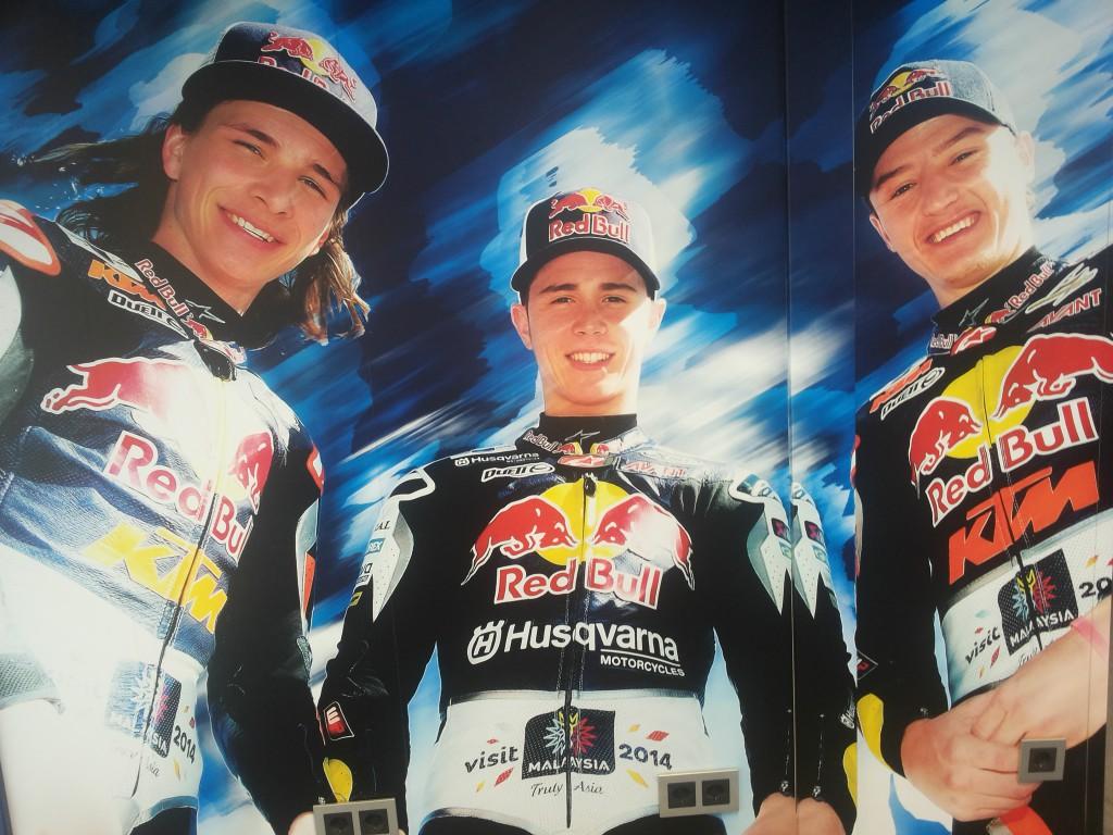 Malaysia supportet Red Bull KTM Ajo Team beim Moto GP 2014