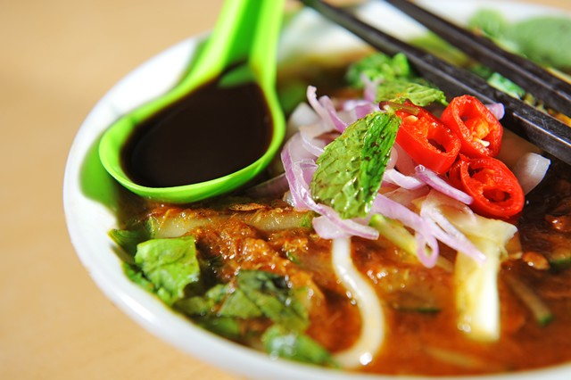 So schmeckt Malaysia: Laksa