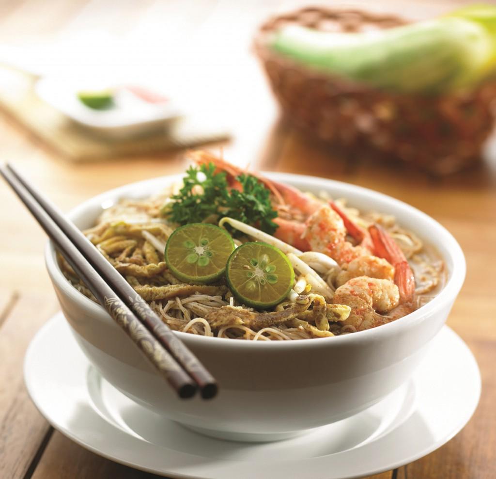So schmeckt Malaysia: Laksa-Suppe aus Sarawak