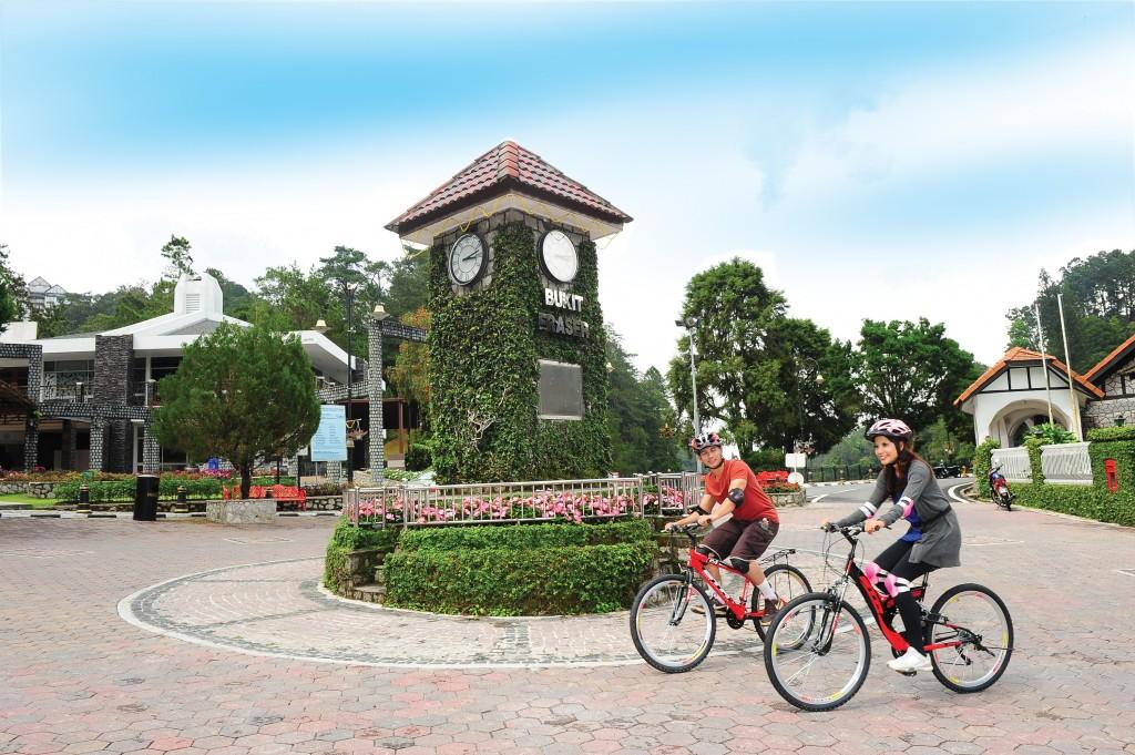 Zeit zum Fahrradfahren