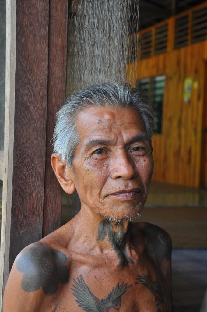 Zeit zum Staunen: die traditionellen Tribal Tattoos aus Sarawak