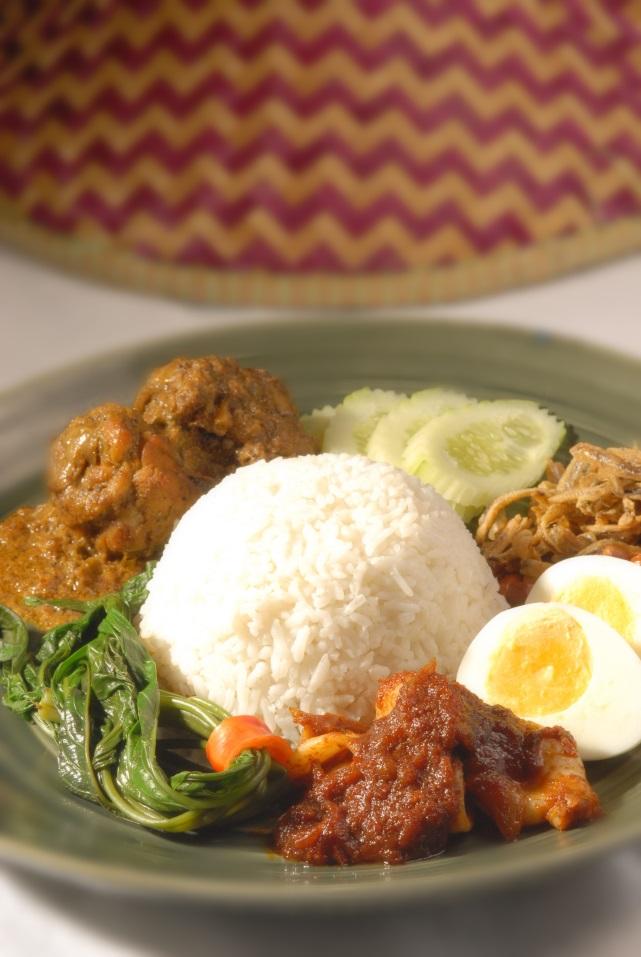 So schmeckt Malaysia:  Nasi Lemak